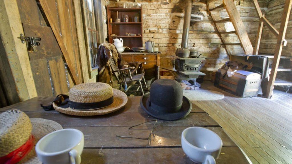 Mayhew Cabin Interior