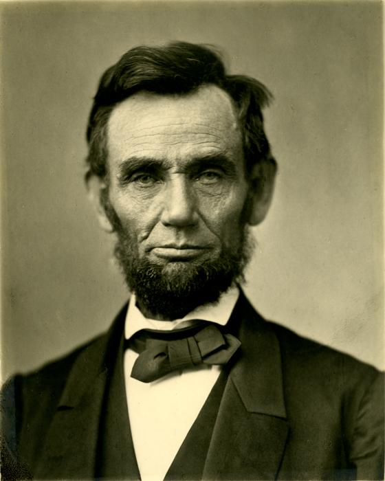 President Abraham Lincoln, 1863